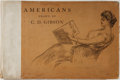 Books:Americana & American History, Charles Dana Gibson. Americans. R. H. Russell, 1901. Earlyedition. Large oblong format with illustrations by th...