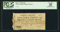 Colonial Notes:North Carolina, North Carolina March 9, 1754 26s 8d PCGS Apparent Very Fine 30.....