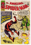 Silver Age (1956-1969):Superhero, The Amazing Spider-Man #5 (Marvel, 1963) Condition: VG/FN....