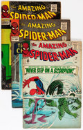 Silver Age (1956-1969):Superhero, The Amazing Spider-Man Group (Marvel, 1964-66) Condition: Average VG.... (Total: 7 Comic Books)