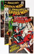Silver Age (1956-1969):Superhero, The Amazing Spider-Man Group (Marvel, 1967-73) Condition: Average FN.... (Total: 23 Comic Books)