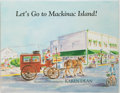 Books:Children's Books, Karen Dean. SIGNED. Let's Go to Mackinac Island! [Michigan:Proctor, 2003]. First edition. Signed by the author an...