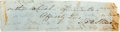 "Autographs:Authors, Harriet Beecher Stowe Clipped Signature. 5"" x 1.25"". The author ofUncle Tom's Cabin signs ""H.B. Stowe."" Moderately tone..."