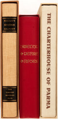 Books:Literature Pre-1900, [Limited Editions Club]. Group of Three SIGNED/LIMITED 19th CenturyFrench Literary Works. New York: LEC, [1955-1960]. Inclu... (Total:3 Items)