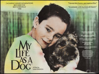 """My Life as a Dog & Other Lot (Artificial Eye, 1985). British Quads (2) (30"""" X 40""""). Drama. ... (Total:..."""