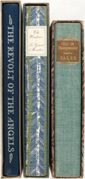 Books:Literature 1900-up, [Limited Editions Club]. Group of Three SIGNED/LIMITED French Literary Novels. New York: LEC, [1953-1963]. Includes: Anatole... (Total: 3 Items)