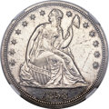 Proof Seated Dollars, 1858 $1 -- Scratches -- NGC Details. Proof....