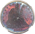 Patterns, 1863 50C Half Dollar, Judd-343, Pollock-415, R.7, PR65+ Red and Brown NGC....