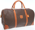 Luxury Accessories:Travel/Trunks, Celine Brown Monogram Canvas Travel Bag with Leather Details. ...
