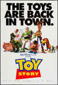 """Movie Posters:Animation, Toy Story and Other Lot (Buena Vista, 1995). One Sheets (2) (27"""" X 40"""") DS Regular & Advance. Animation.. ... (Total: 2 Items)"""