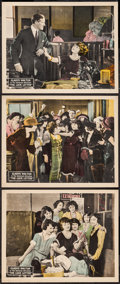 "Movie Posters:Crime, The Love Letter (Universal, 1923). Lobby Cards (3) (11"" X 14"").Crime.. ... (Total: 3 Items)"