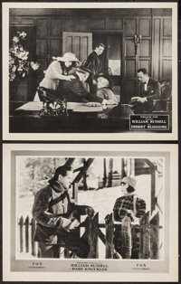 """Bare Knuckles & Other Lot (Fox, 1921). Lobby Cards (2) (11"""" X 14""""). Drama. ... (Total: 2 Items)"""