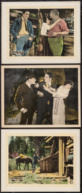 "Movie Posters:Action, Bring Him In & Other Lot (Vitagraph, 1921). Lobby Cards (3) (11"" X 14""). Action.. ... (Total: 3 Items)"