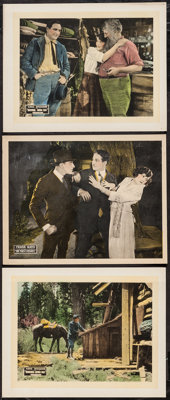 "Bring Him In & Other Lot (Vitagraph, 1921). Lobby Cards (3) (11"" X 14""). Action. ... (Total: 3 Items)"
