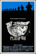 "Movie Posters:Academy Award Winners, Platoon (Orion, 1986). One Sheet (27"" X 41""). Academy AwardWinners.. ..."