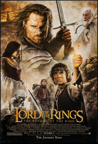 """The Lord of the Rings: The Return of the King (New Line, 2003). One Sheet (27"""" X 40"""") SS Advance. Fantasy"""