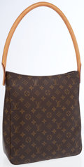 Luxury Accessories:Bags, Louis Vuitton Classic Monogram Canvas Looping GM Bag . ...