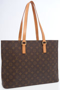 Luxury Accessories:Bags, Louis Vuitton Classic Monogram Canvas Luco Tote Bag . ...