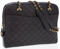 Luxury Accessories:Bags, Chanel Black Quilted Lambskin Leather Shoulder Bag with GoldHardware . ...