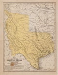 Miscellaneous:Maps, [Map]. Samuel A. Mitchell. Map of the State of Texas....