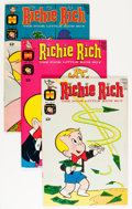 Bronze Age (1970-1979):Humor, Richie Rich #81-125 Group (Harvey, 196-74) Condition: AverageVF.... (Total: 45 Comic Books)