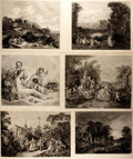 "Books:Prints & Leaves, [Antique Illustration] Lot of Six Engraved Illustrations Originally in the Collection of M. A. Febvre. 12.5"" x 9.5"". Removed..."