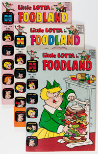 Little Lotta Foodland #5 and 7-29 File Copy Group (Harvey, 1963-72) Condition: Average NM-.... (Total: 60 Comic Books)