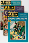 Golden Age (1938-1955):Classics Illustrated, Classics Illustrated Group (Gilberton, 1950s) Condition: AverageFN/VF.... (Total: 16 Comic Books)
