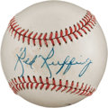 Autographs:Baseballs, 1950's Red Ruffing Single Signed Baseball....