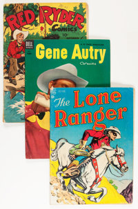 Golden to Silver Age Western Group (Various Publishers, 1950s-60s) Condition: Average VG/FN.... (Total: 56 Comic Books)