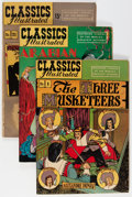 Golden Age (1938-1955):Classics Illustrated, Classic Comics/Classics Illustrated Group (Gilberton, 1943-50)Condition: Average FN+.... (Total: 11 Comic Books)