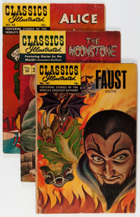 Classics Illustrated Group (Gilberton, 1950s-60s) Condition: Average FN.... (Total: 21 Comic Books)
