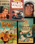 Books:Children's Books, [Children's and Young Adult]. Group of Five Children's and YoungAdult Books. Includes a copy of Raggedy Ann's Magical Wis...(Total: 5 Items)