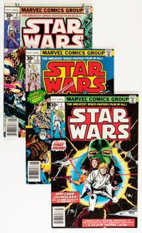 Star Wars Group (Marvel, 1977-81) Condition: Average FN/VF.... (Total: 23 Comic Books)