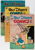 Golden Age (1938-1955):Cartoon Character, Walt Disney's Comics and Stories Group (Dell, 1949-79) Condition:Average GD+.... (Total: 37 Comic Books)