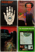 Books:Science Fiction & Fantasy, Philip K. Dick. Group of Four Book Club Edition Books. Titles include: The Three Stigmata of Palmer Eldritch; Galactic P... (Total: 4 Items)