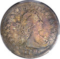 Early Quarters, 1796 25C -- Damage -- PCGS Genuine. VG Details. B-1, R.4....