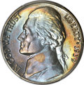 Jefferson Nickels, 1939 5C Reverse of 1940 MS68 Full Steps PCGS....