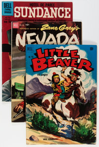 Four Color Western and TV Related Group (Dell, 1950-62).... (Total: 16 Comic Books)