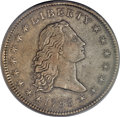 Early Dollars, 1795 $1 Flowing Hair, Two Leaves, Silver Plug XF40 PCGS Secure.B-4, BB-14, R.3....