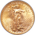 Saint-Gaudens Double Eagles, 1922-S $20 MS64 PCGS....