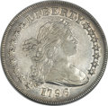 Early Dollars, 1796 $1 Large Date, Small Letters -- Edge Damaged -- ANACS. XF45 Details. B-5, BB-65, R.2....