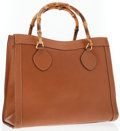 Luxury Accessories:Bags, Gucci Brown Leather Tote Bag with Bamboo Handles . ...