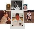 Baseball Collectibles:Photos, 1980's New York Yankees Signed Photograph Collection. ...