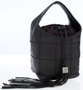 Luxury Accessories:Bags, Chanel Quilted Black Leather Bucket Bag with Tassel Detail. ...