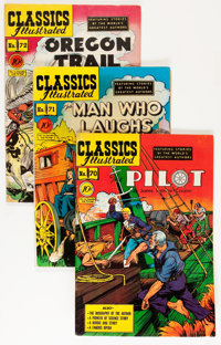 Classics Illustrated #70-80 First Edition Group (Gilberton, 1950-51) Condition: Average FN.... (Total: 11 Comic Books)