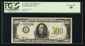 Small Size:Federal Reserve Notes, Fr. 2201-L $500 1934 Light Green Seal Federal Reserve Note. PCGS Extremely Fine 40.. ...