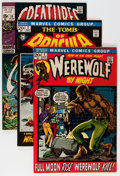 Bronze Age (1970-1979):Horror, Marvel Bronze Age Horror Comics Group (Marvel, 1970s) Condition:Average VG/FN.... (Total: 22 Comic Books)