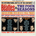 Music Memorabilia:Recordings, The Beatles Vs. The Four Seasons LP (Vee-Jay DX-30, 1964)....