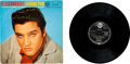 "Music Memorabilia:Recordings, Elvis Presley Loving You UK 10"" LP (UK RCA 24001, 1957)...."